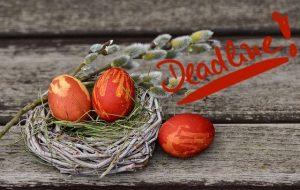 Ostern als Deadline