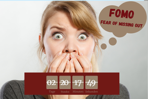 FOMO-Fear Of Missing Out