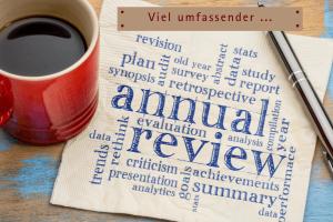 Monatsreview - Jahresreview