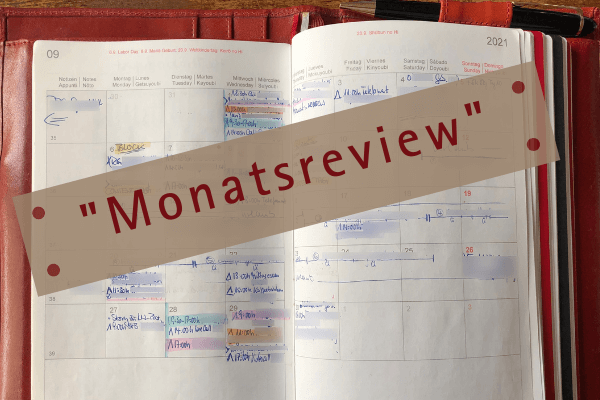Monatsreview - Kalender